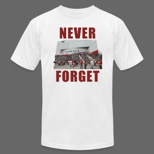 Never Forget Joe Louis Arena - Men's T-Shirt by American Apparel