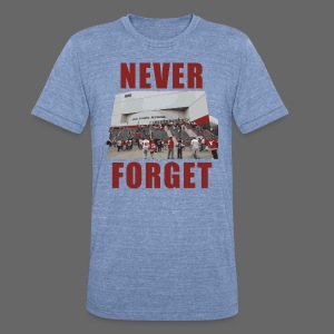 Never Forget Joe Louis Arena - Unisex Tri-Blend T-Shirt by American Apparel