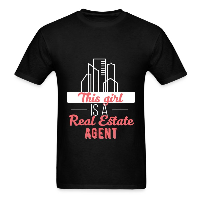 Real Estate Agent This Girl Is A Real Estate Age T Shirt