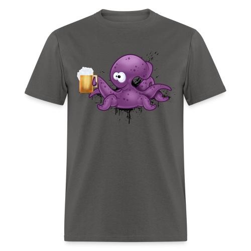 Cheers Octopus - Men's T-Shirt