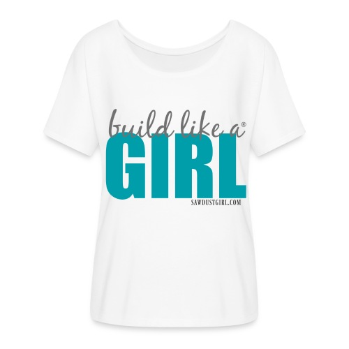 Build like a Girl® Women's Flowy T-Shirt - Women's Flowy T-Shirt