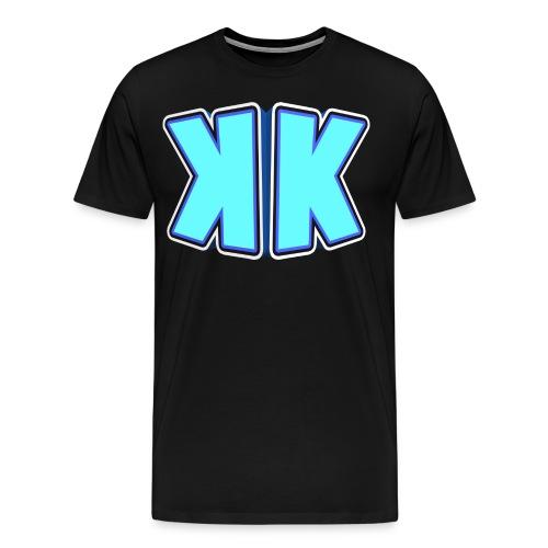 Krojak Men's T-Shirt Black - Men's Premium T-Shirt