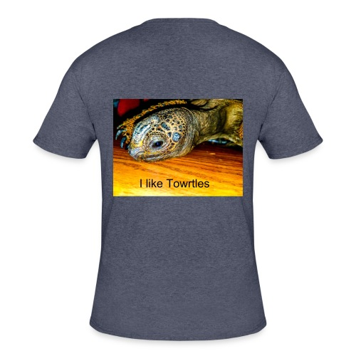 I like Towrtles - Men's 50/50 T-Shirt