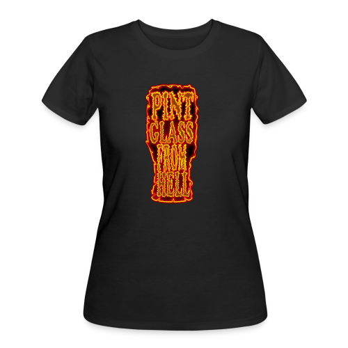 Pint Glass From Hell Tee - Women's - Women's 50/50 T-Shirt