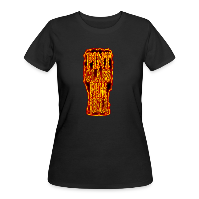 Pint Glass From Hell Tee - Women's