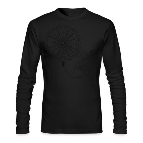 Atrapasue-os : black - Men's Long Sleeve T-Shirt by Next Level