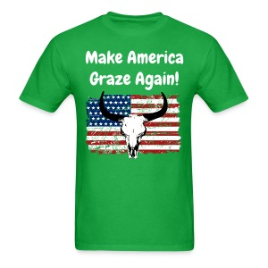 Make America Graze Again! - Men's T-Shirt