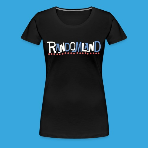 Randomland Women's Premium Retro logo shirt - Women's Premium T-Shirt
