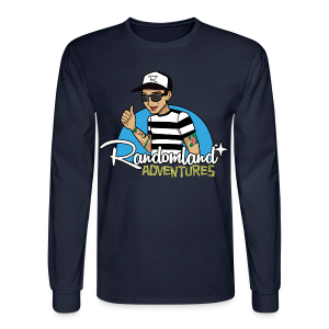 Randomland Adventures Long Sleeve Shirt! (Men/Unisex) - Men's Long Sleeve T-Shirt