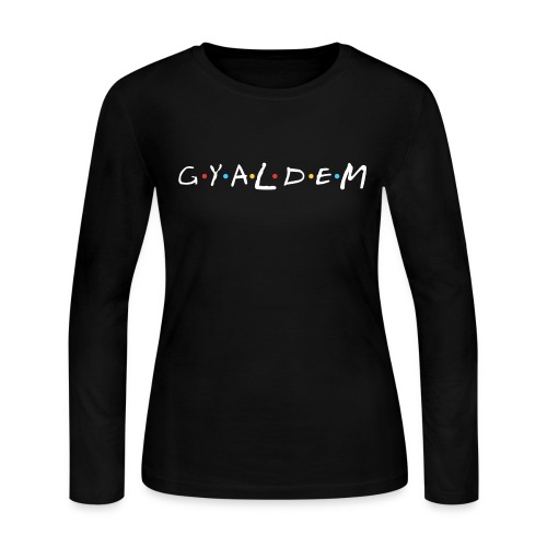 Gyal Dem - Women's Long Sleeve Jersey T-Shirt