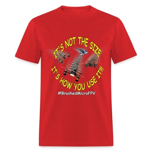 FPV - BrushedMicro - FPV Drone Racing TShirt - Men's T-Shirt