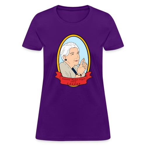 Portrait of Suzette Haden Elgin (Feminine) - Women's T-Shirt