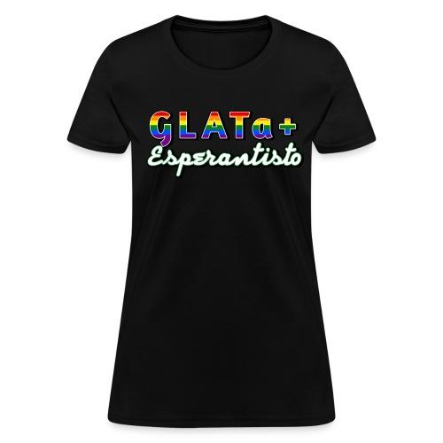 GLATa+ Esperantisto (Feminine) - Women's T-Shirt