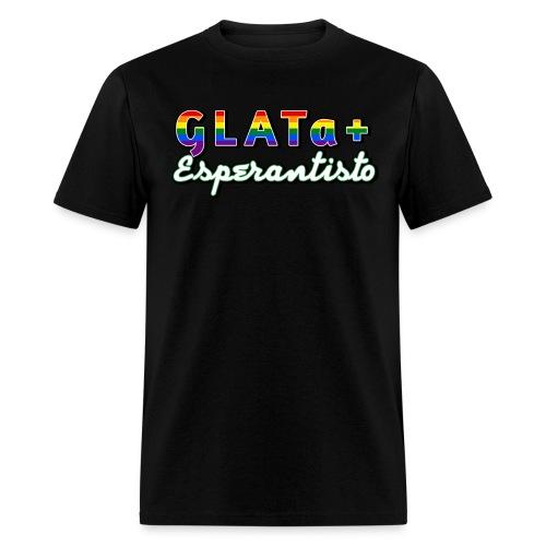 GLATa+ Esperantisto (Masculine) - Men's T-Shirt