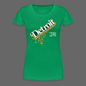 Detroit Ginger Ale - Women's Premium T-Shirt