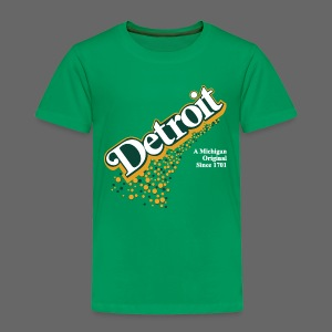 Detroit Ginger Ale - Toddler Premium T-Shirt
