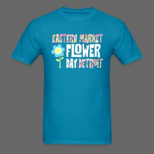 Eastern Market - Flower Day - Men's T-Shirt