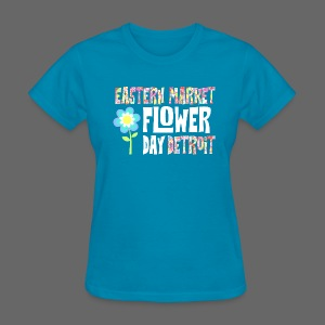 Eastern Market - Flower Day - Women's T-Shirt