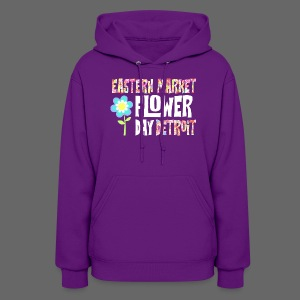 Eastern Market - Flower Day - Women's Hoodie