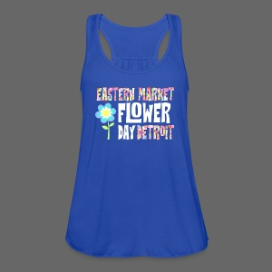 Eastern Market - Flower Day - Women's Flowy Tank Top by Bella