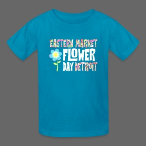 Eastern Market - Flower Day - Kids' T-Shirt