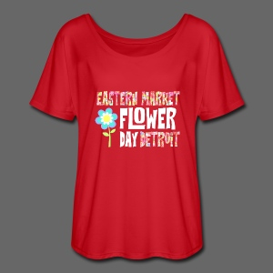 Eastern Market - Flower Day - Women's Flowy T-Shirt
