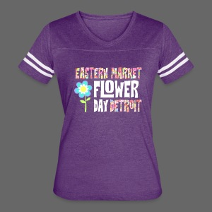 Eastern Market - Flower Day - Women's Vintage Sport T-Shirt