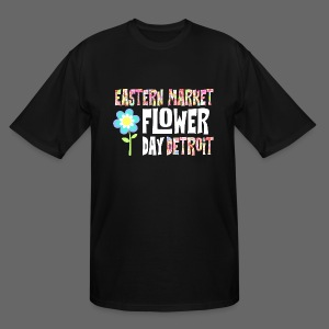 Eastern Market - Flower Day - Men's Tall T-Shirt
