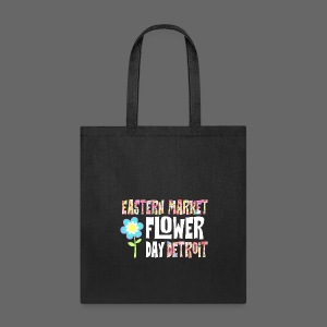Eastern Market - Flower Day - Tote Bag