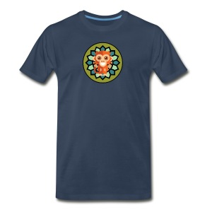 Monkey & Flower Men's Premium Tee - Men's Premium T-Shirt