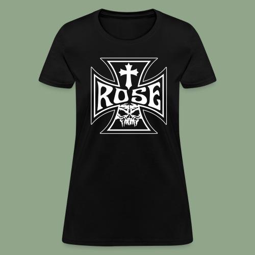 Rose - Iron Cross T-Shirt (women's) - Women's T-Shirt