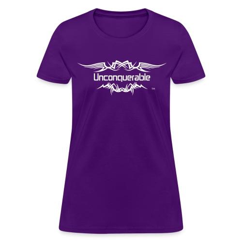 I AM UNCONQUERABLE (Women's T) - Women's T-Shirt