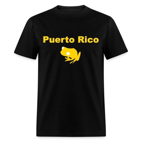 Coquí de Puerto Rico - Men's T-Shirt