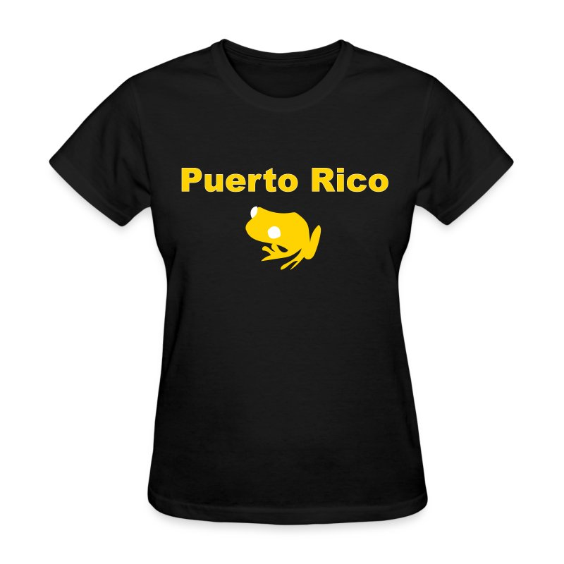 Coquí de Puerto Rico - Women's T-Shirt