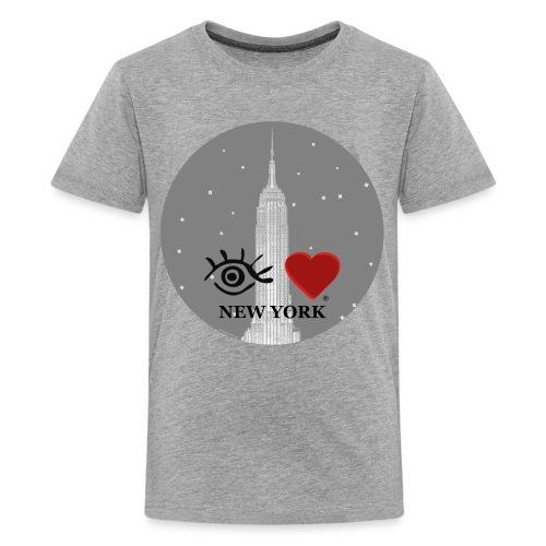 Eye Love New York Empire State Building - Kids' Premium T-Shirt