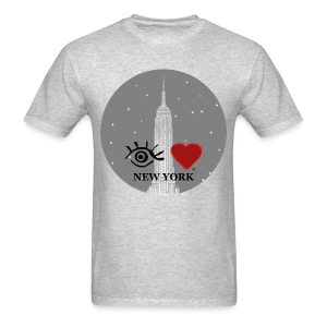 Eye Love New York Empire State Building - Men's T-Shirt