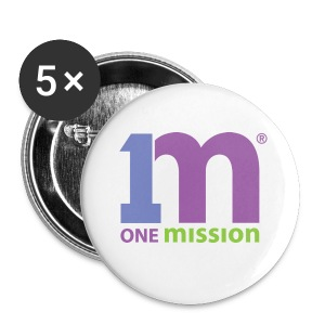 One Mission Buttons - Large Buttons