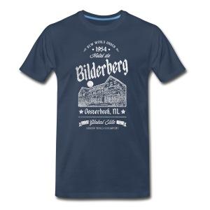 Bilderberg Shadow Government - Men's Premium T-Shirt