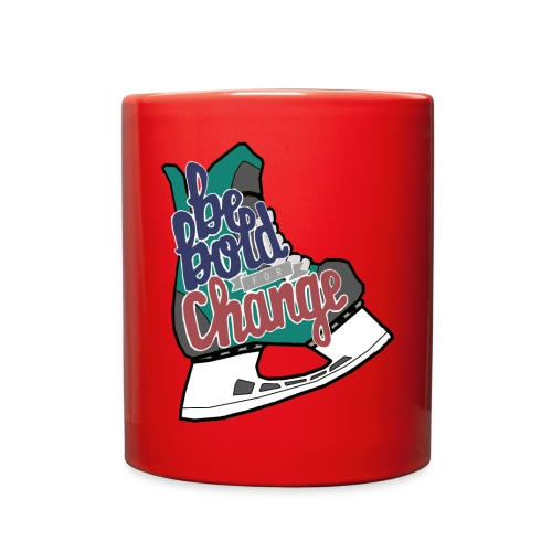 Be Bold For Change Teal Mug - Full Color Mug