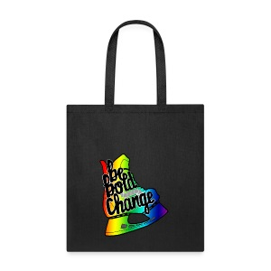 Be Bold For Change Rainbow Tote - Tote Bag