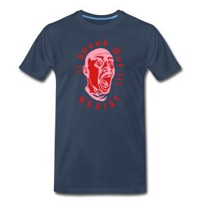 Speak Out Resist - Men's Premium T-Shirt