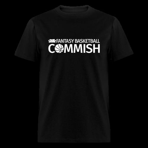 Fantasy Basketball Commish White - Men's T-Shirt