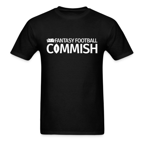 Fantasy Football Commish White - Men's T-Shirt