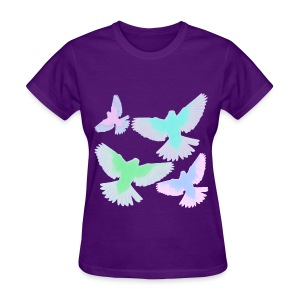 Neon Birds - Women's T-Shirt