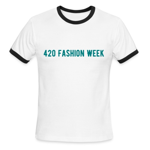 420 Fashion Week Men's Ringer T-shirt - Men's Ringer T-Shirt