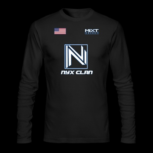 NyX Parker - Jersey Season 1 - Men's Long Sleeve T-Shirt by Next Level