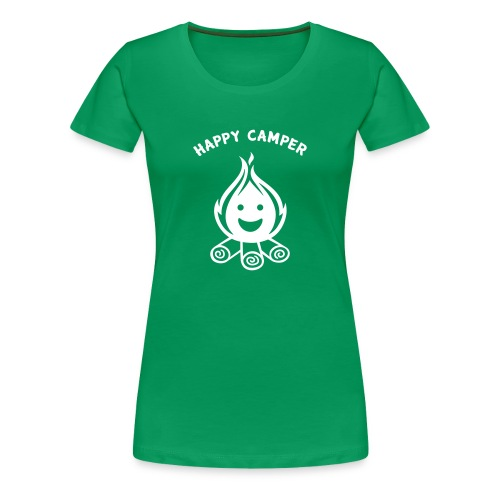 Happy Camper - Women's Premium T-Shirt