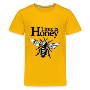 Time is Honey Beekeeper Kids' T-Shirt - Kids' Premium T-Shirt