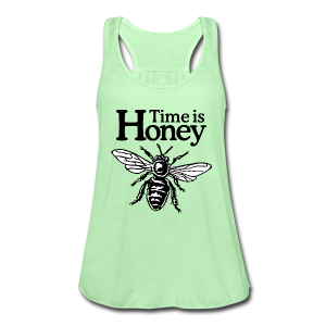Time is Honey Beekeeper Tank Top - Women's Flowy Tank Top by Bella