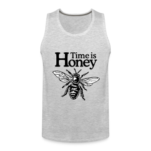 Time is Honey Beekeeper Tank Top - Men's Premium Tank
